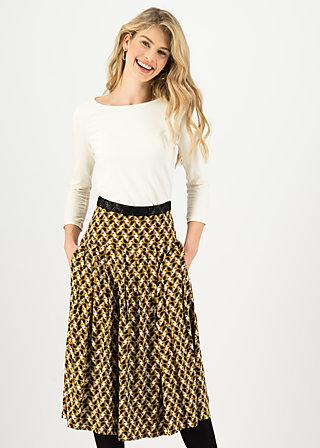 Pleated skirt so garbo, jingle josi, Skirts, Yellow