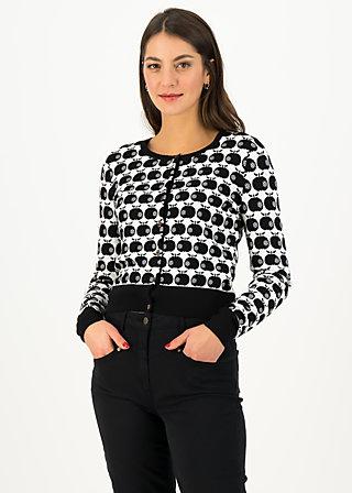 Cardigan strickliesl, knit black apple, Cardigans & lightweight Jackets, Black