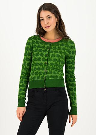 Cardigan strickliesl, knit green apple, Cardigans & lightweight Jackets, Green