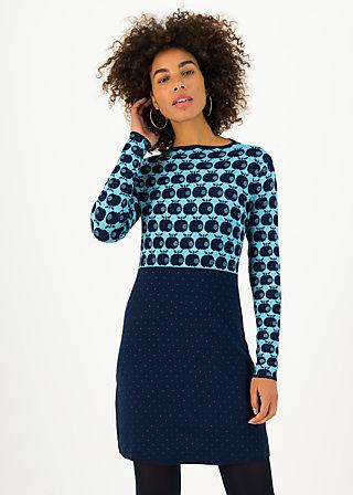 Strickkleid stricklizzi, knit blue apple, Kleider, Blau