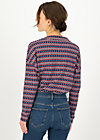 Longsleeve tailorlove turtle, betty bordure, Shirts, Blue