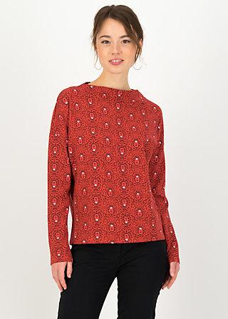 Longsleeve tailorlove turtle, bibi babuschka, Shirts, Rot