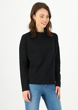 Longsleeve tailorlove turtle, black star, Shirts, Schwarz