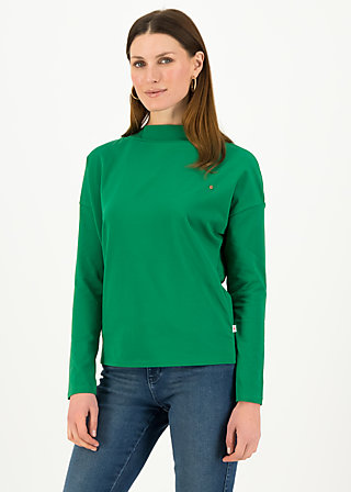 Longsleeve tailorlove turtle, fauna green, Shirts, Grün