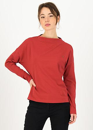 Longsleeve tailorlove turtle, sweet cherry, Shirts, Rot