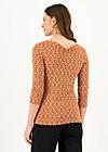 Shirt gracious twist, rusty heartheat, Shirts, Braun