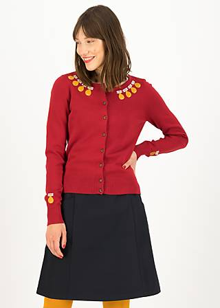 Cardigan save the brave, red classic, Cardigans & leichte Jacken, Rot