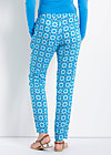 adams rib pants, cascades of azur, Hosen, Blau