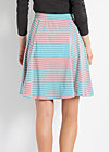 certain seduction skirt, blue sky stripes, Röcke, Blau