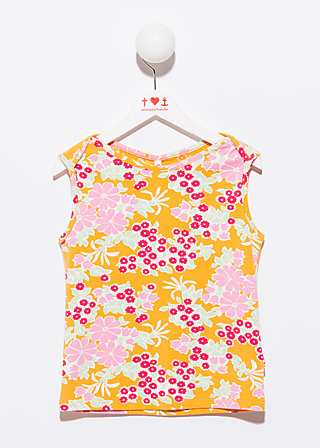 chipsy chopsy shirtle, power of flower, Shirt, Orange
