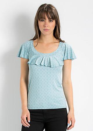 falleri volanterie shirt, glitter cloud, Shirts, Blau