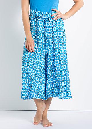 flatterschlange shorts, cascades of azur, Hosen, Blau