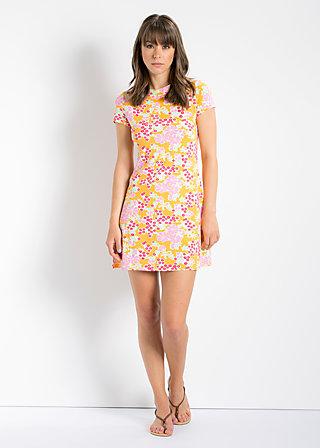 forbidden fruits dress, power of flower, Kleid, Orange