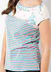 halbe halbe tee, blue sky stripes, Shirts, Blau