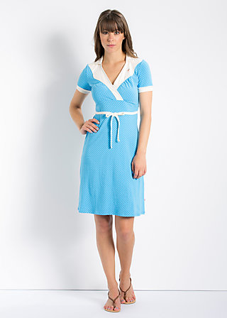 love and tenderness dress, deep lagon, Kleider, Blau