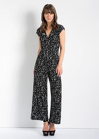 lure of tropics suit, sparkling speckle, Hosen, Schwarz