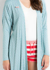 pleasure me cardy, glitter cloud, Cardigans, Blau