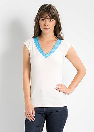 sailorette cache top, white beach, Shirts, Weiß