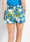 sündenfall shorts, exotic explosion, Hosen, Blau