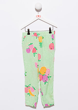 summerparty pants, juicy fruits, Hosen, Grün