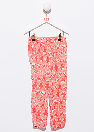 summerparty pants, romantically minded, Hose, Rot