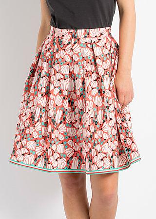 swing and sin skirt, daily daisy, Webröcke, Orange