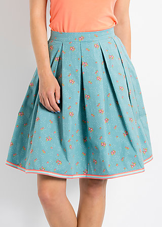 swing and sin skirt, gentle garden, Röcke, Blau
