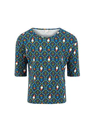 amelie longsie , mister pot plant, Shirts, Blau