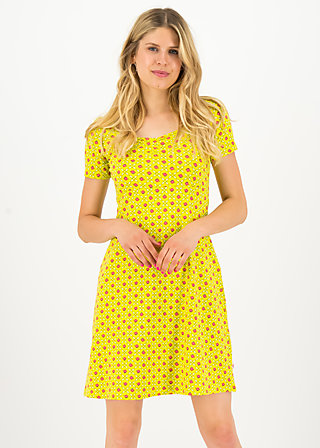 belle de jours petit robe, promenade walk, Dresses, Yellow