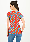 cache coeur romance tee, le blue belle, Shirts, Red