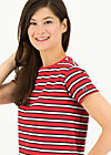 chanson d amour tee, les stripes, Shirts, Rot