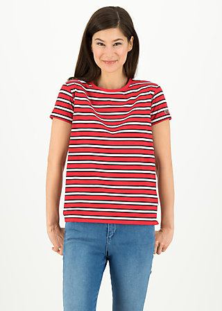 chanson d amour tee, les stripes, Shirts, Red