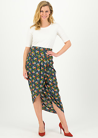 Summer Skirt fantastique envelope, love in the idleness, Skirts, Blue