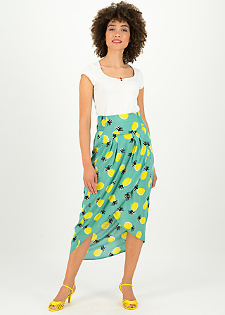 fantastique envelope jupe, pineapple party, Skirts, Turquoise