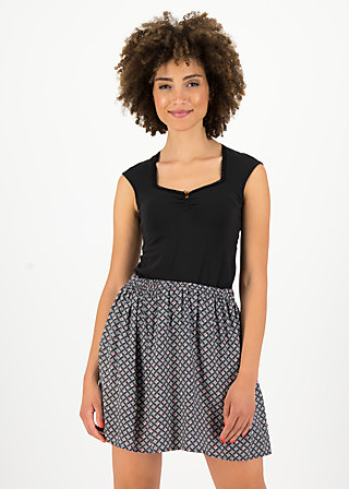 flirty flatter skirt, café paris, Skirts, Black