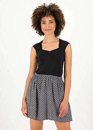 flirty flatter skirt, café paris, Röcke, Schwarz