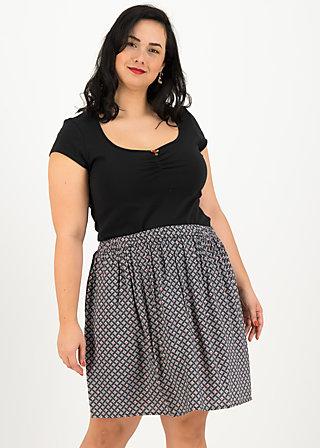 flirty flatter skirt, café paris, Skirts, Black