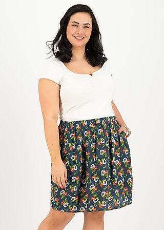 flirty flatter skirt, love in the idleness, Skirts, Blue