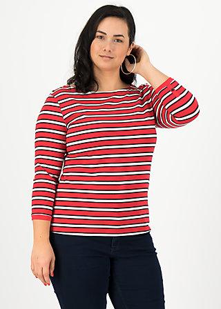 harbour d'amour shirt, les stripes, Shirts, Red