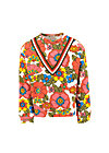 hippie hipster sweat, shower flower, Weiß