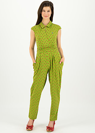 jour et nuit suit, strawberry soucre, Trousers, Green