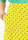 la vie est belle jupe, promenade walk, Skirts, Yellow