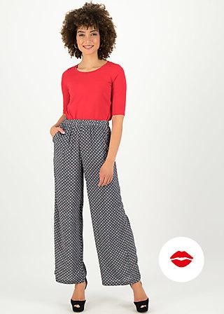 lady flatterby pants, café paris, Hosen, Schwarz