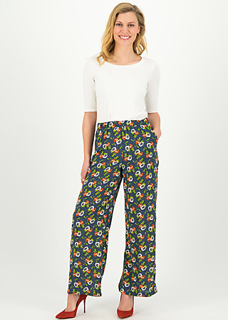 lady flatterby pants, love in the idleness, Hosen, Blau