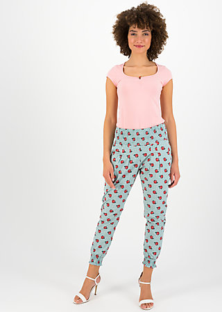 Pleated Front Trousers madame chouchou, la tendresse, Trousers, Green