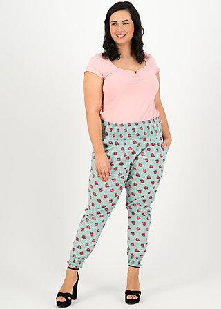 madame chouchou pantalons, la tendresse, Hosen, Grün