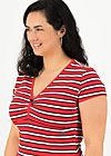 mon coeur tee, les stripes, Shirts, Rot