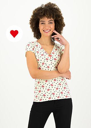mon coeur tee, first kiss, Shirts, Beige
