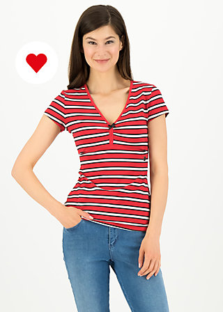 mon coeur tee, les stripes, Shirts, Red