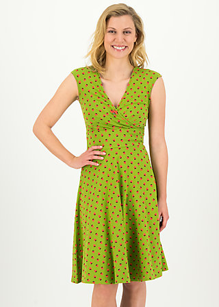 Summer Dress ohlala tralala, strawberry soucre, Dresses, Green